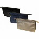 Barton Trading kosmetická taška na zip, zlatá, 32 × 20 × 9 cm