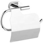 Držák toaletního papíru s krytem Oval Chrom, TO-69304