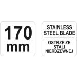 Nůžky 170mm, YT-19763