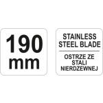 Nůžky 190mm, YT-19764