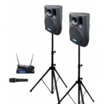 DEXON 2x BC 800A + MBD 830 + MD 505 ozvučovací sestava s mikrofony, 17_927