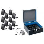 DEXON Zapůjčení sestavy 1x vysílač WA 600RB + 11x přijímač WA 600RC + 1x nabíječ WA 600RU, 19_551