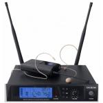 DEXON Bezdrátový mikrofon diverzitní náhlavní / klopový MBD 940, 21_892