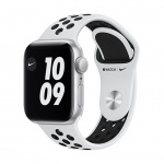 Apple  Watch Nike SE, 44mm, Silver/Plat./Bl Nike SportB, MYYH2HC/A