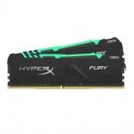 16GB DDR4-3000MHz CL15 HyperX Fury RGB, 2x8GB, HX430C15FB3AK2/16