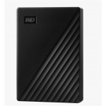 "Western Digital Ext. HDD 2,5"" WD My Passport 4TB USB 3.0. černý, WDBPKJ0040BBK-WESN"