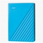 "Western Digital Ext. HDD 2,5"" WD My Passport 4TB USB 3.0. modrý, WDBPKJ0040BBL-WESN"