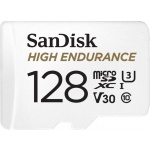 SanDisk High Endurance microSDXC 128GB + adaptér, SDSQQNR-128G-GN6IA