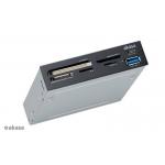 AKASA USB čtečka karet s USB C portem, AK-ICR-33