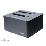 AKASA DuoDock X3, AK-DK08U3-BK