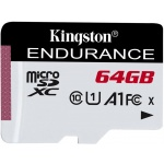 64GB microSDXC Kingston Endurance CL10 A1 95R/45W bez adapteru, SDCE/64GB