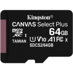 KINGSTON microSDHC class 10 64GB SDCS2/64GB