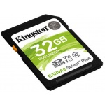 32GB SDHC Kingston Canvas Select Plus U1 V10 CL10 100MB/s, SDS2/32GB