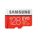 Micro SDXC 128GB Samsung EVO Plus + SD adaptér, MB-MC128HA/EU