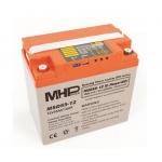 Carspa MHPower MSD55-12 Smart akumulátor VRLA-GEL 12V/55A, MSD55-12