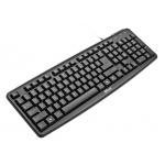 klávesnice TRUST ClassicLine Keyboard CZ, USB, 16302