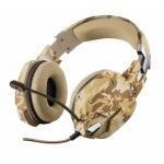 TRUST GXT 322D Carus Gaming Headset - desert camo, 22125