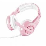TRUST GXT 310P Radius Gaming Headset - pink, 23203