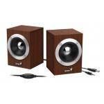 Genius SP-HF280,USB, dřevo, 31730028400