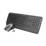 TRUST Tecla-2 Wireless Keyboard with mouse US, 23239