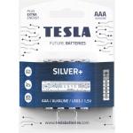 TESLA - baterie AAA SILVER+, 4 ks, LR03, 1099137217
