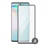 Screenshield SAMSUNG A915 Galaxy A91 Tempered Glass protection (full COVER black), SAM-TG25DBA915-D