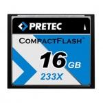 PRETEC CompactFlash 16GB 233x BULK, PCCF16GBBULK
