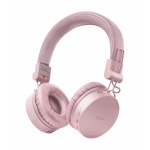 TRUST TONES WIRELESS HEADPHONES PINK, 23910