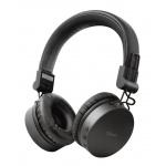 TRUST TONES bezdrátová sluchátka, černá, 23551