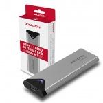 AXAGON EEM2-UG2, USB-C 3.2 Gen 2 - M.2 NVMe SSD kovový box, délka 42 až 80 mm, EEM2-UG2