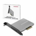 AXAGON PCEM2-NC, PCIe x4 - M.2 NVMe M-key slot adaptér, pasivní chladič, PCEM2-NC