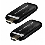 PremiumCord HDMI Wireless extender na 15m, pásmo 5.8GHz, khext50-4