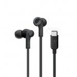 BELKIN USB-C sluchátka černá, G3H0002btBLK