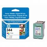 HP no. 344 - 3barevná ink. kazeta, velká, C9363EE, C9363EE - originální