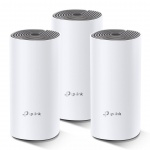 TP-Link AC1200 Whole-home Mesh WiFi System Deco E4(3-pack), 2x10/100 RJ45, Deco E4(3-pack)