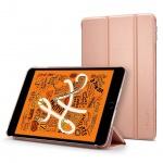 Ochranné pouzdro Spigen Smart Fold Case pro Apple iPad mini 5 2019 zlatorůžové, 051CS26113