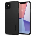 Ochranný kryt Spigen Thin Fit pro Apple iPhone 11 černý, 076CS27178