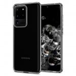 Ochranný kryt Spigen Liquid Crystal pro Samsung Galaxy S20 ultra transparentní, ACS00709