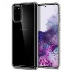 Ochranný kryt Spigen Ultra Hybrid pro Samsung Galaxy S20 plus transparentní, ACS00755