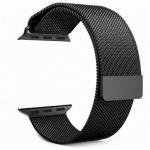 Tactical 333 Loop Magnetický Kovový Řemínek pro Apple Watch 1/2/3/4/5/6/SE 38/40mm Black, 8596311069215