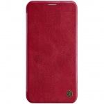 Nillkin Qin Book Pouzdro pro iPhone 11 Red, 6902048184435