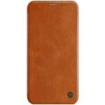 Nillkin Qin Book Pouzdro pro iPhone 11 Brown, 6902048184442