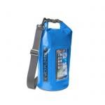 Voděodolný vak CELLY Explorer 5L, modrý, EXPLORER5LBL