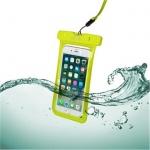 """Voděodolné pouzdro CELLY Splash Bag 6,2"""", žluté, SPLASHBAG18YL"""