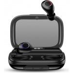 USAMS YJ Wireless 5.0 Digital Display Stereo Headset Black, 6958444984124