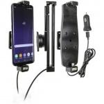 Brodit držák do auta na Samsung Galaxy S10+/S9+/S8+ a jiné, s pružinou,s nab. z cig.zapalovače/USB, PBR-521965