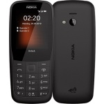 Nokia 220 4G Dual Sim Black, 16QUEB01A02