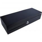 Virtuos Pokladní zásuvka flip-top FT-460C - s kabelem, se zamykatelným krytem pořadače, 9-24V, černá, EKN0007