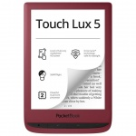 E-book POCKETBOOK 628 Touch Lux 5, Red, PB628-R-WW