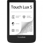 E-book POCKETBOOK 628 Touch Lux 5, Black, PB628-P-WW
